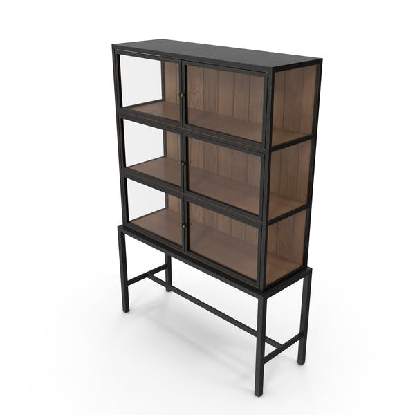 Thumbnail for Mid-Century Modern Display Cabinet