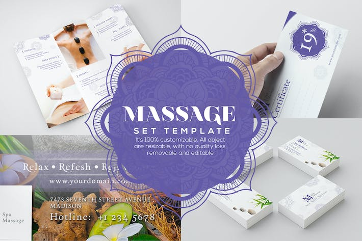 Thumbnail for Massage - Set Template