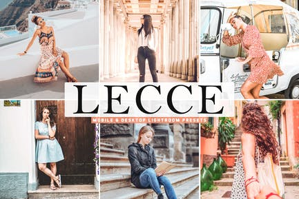 Lecce Mobile & Desktop Lightroom Presets