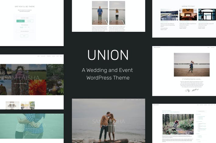 Cover Image For Union - Wedding and Event WordPress Theme