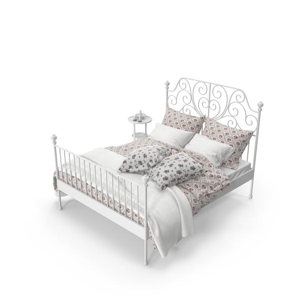 Cover Image for Wrought Iron Bed Set