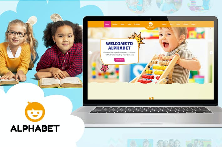 Thumbnail for Alphabet - Daycare / School HTML5