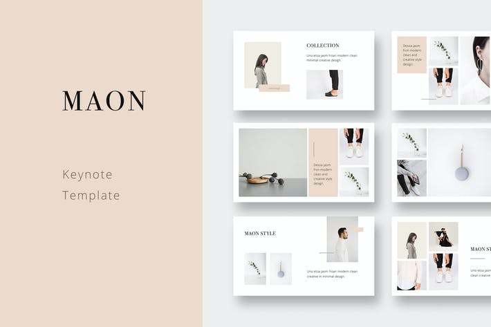 Thumbnail for MAON - Keynote Template