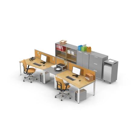 Büro-Set