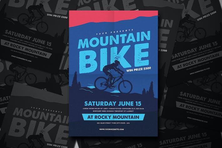 Thumbnail for Mountain Bike Event Flyer