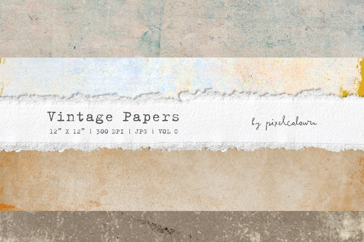 Thumbnail for Vintage Papers or Backgrounds C
