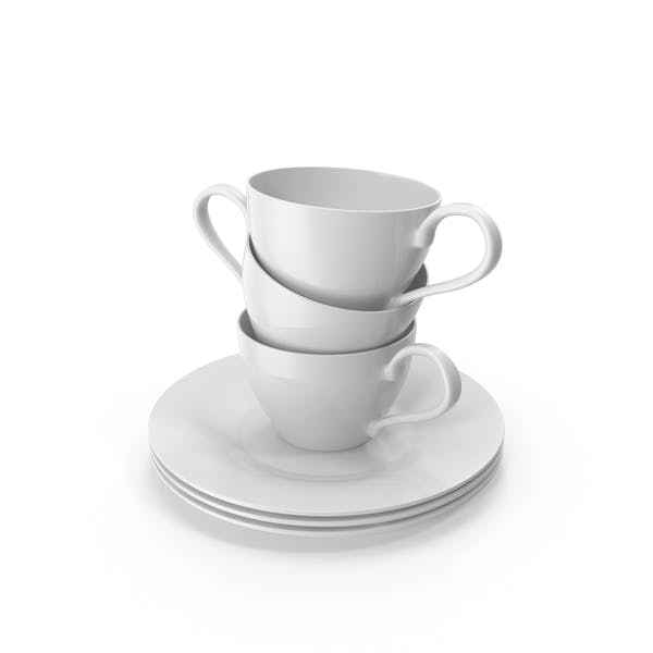 Thumbnail for Cups on Saucers