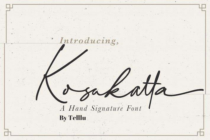 Thumbnail for Kosakatta Signature