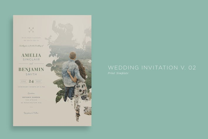 Thumbnail for Wedding Invitation V02