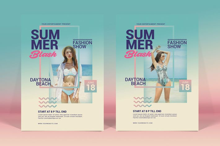Thumbnail for Summer Fashion Flyer
