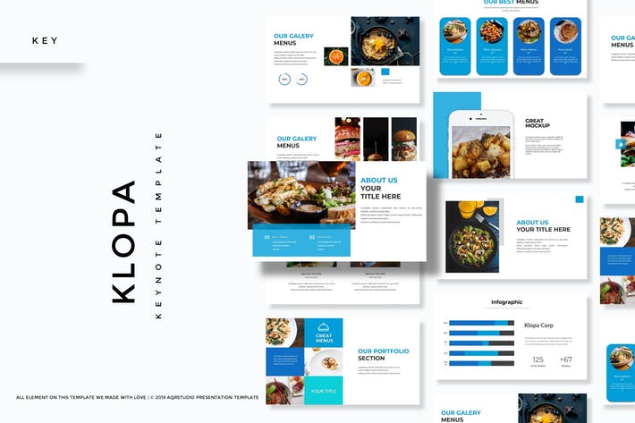 Thumbnail for Klopa - Keynote Template