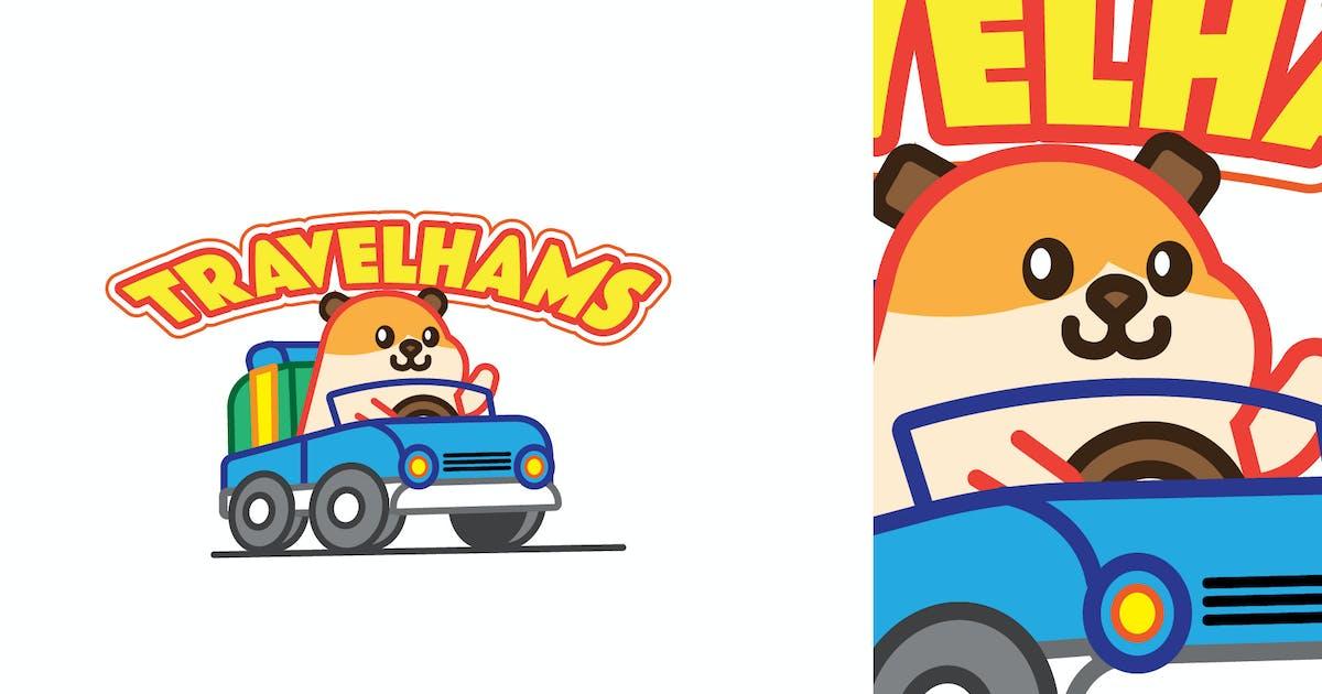 Download Travel Hams - Mascot & Esport Logo by aqrstudio