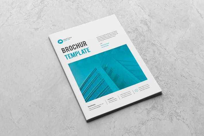 Cover Image For Company Business Brochure
