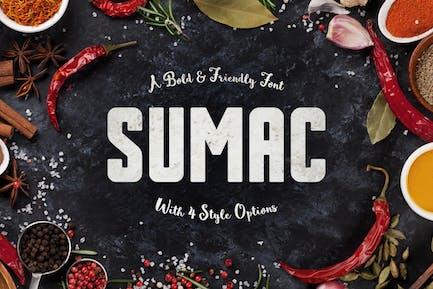 Sumac Typeface