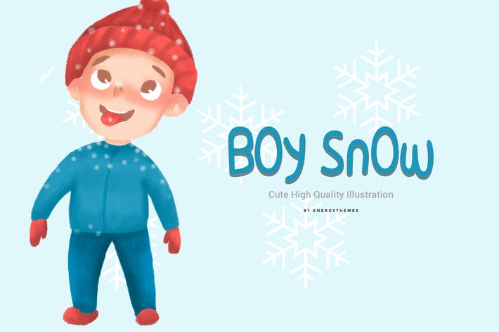 Thumbnail for Ilustración 04 - Boy Nieve