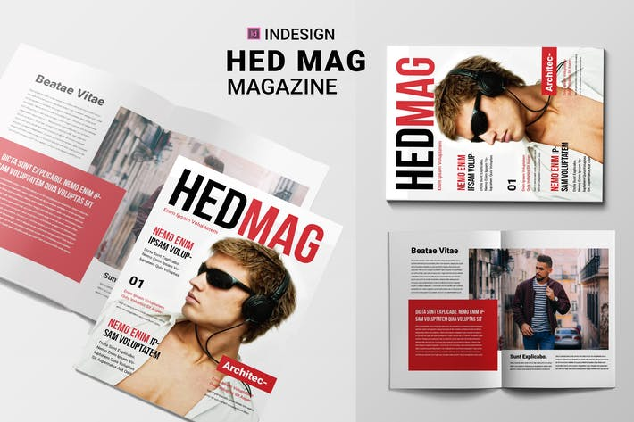 Thumbnail for Hed Mag | Magazine