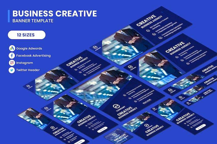 Business Creative Google Adwords Banner Template