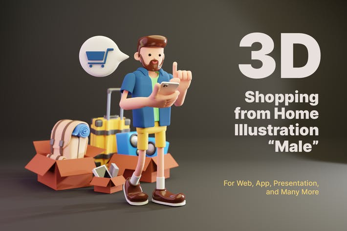 3D Shopping from Home - Male