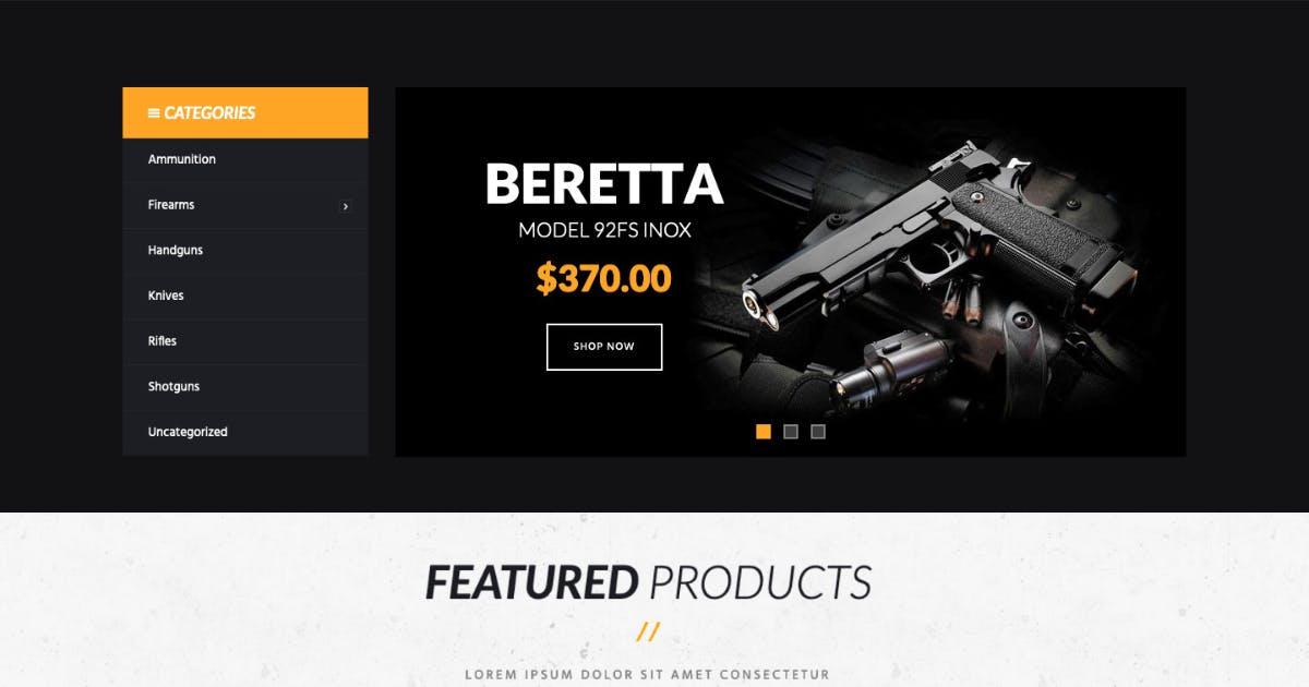 Download Kingler | Weapon Store & Gun Training WP Theme by ThemeREX