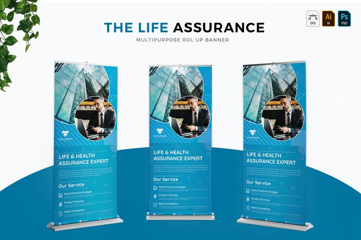 Thumbnail for Life Assurance | Roll Up Banner