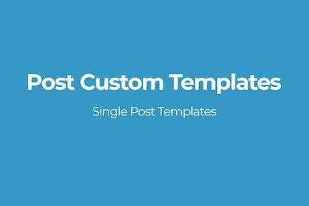 Post Custom Templates