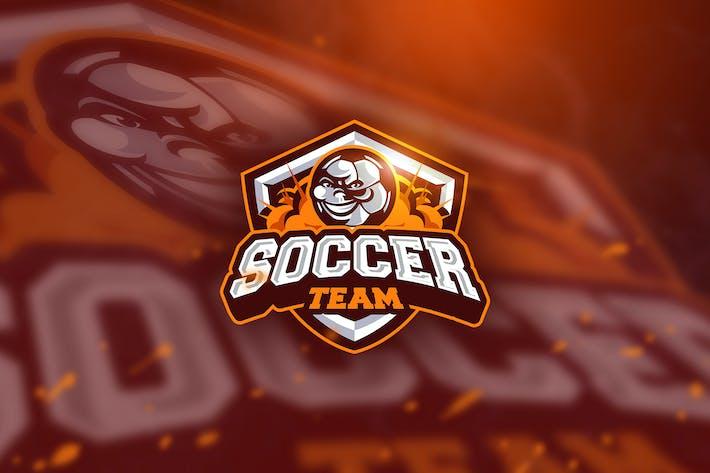 Thumbnail for Soccer - Mascot & Esport Logo