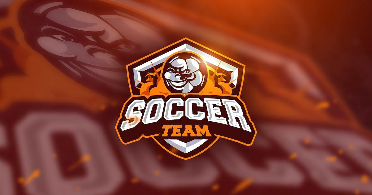 Download Soccer - Mascot & Esport Logo by aqrstudio