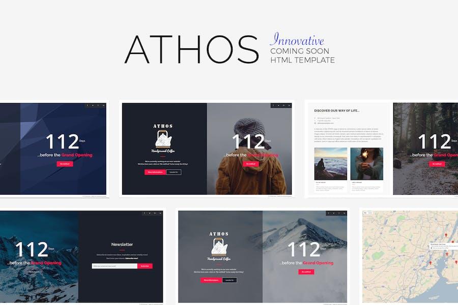 ATHOS - Innovative demnächst Vorlage