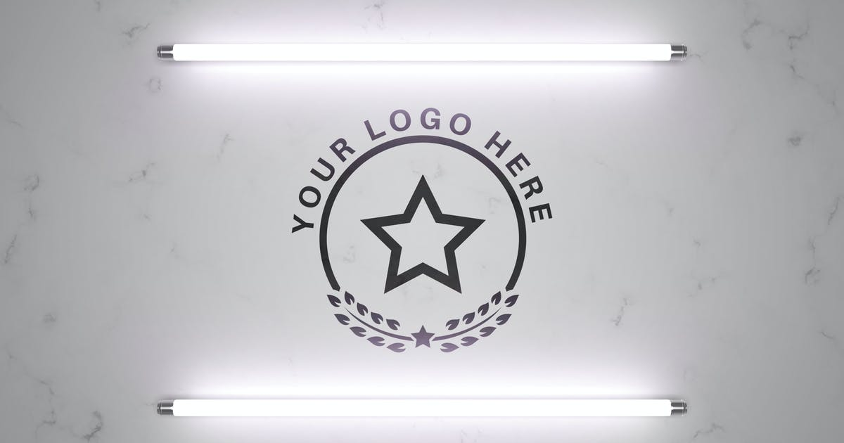 Download Logo in light - mockup template by rwgusev