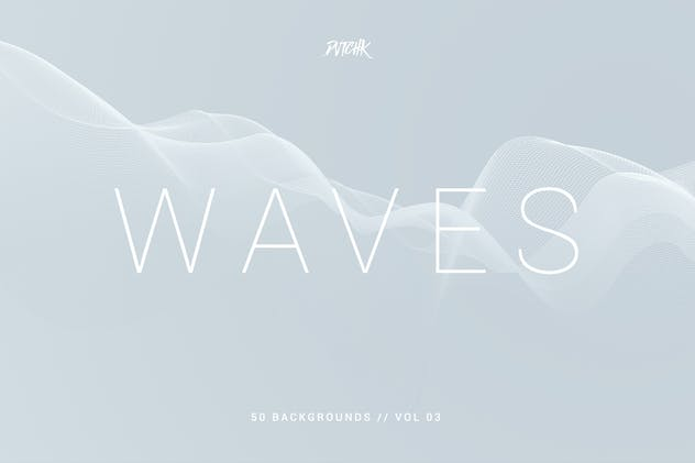 Waves | Network Lines Backgrounds | Vol. 03