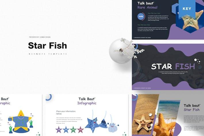 Thumbnail for Star Fish | Keynote Template