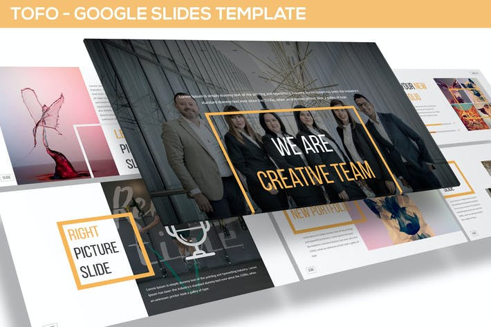 Thumbnail for Tofo - Multipurpose Google Slides Template