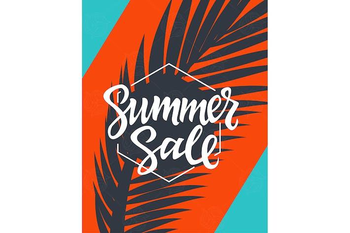Thumbnail for Summer Sale - moderne Vektor broschüre