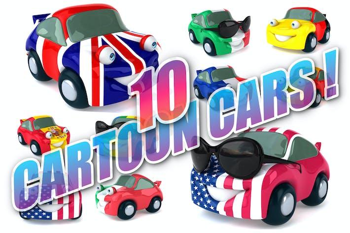 Thumbnail for 10 fun Cars !