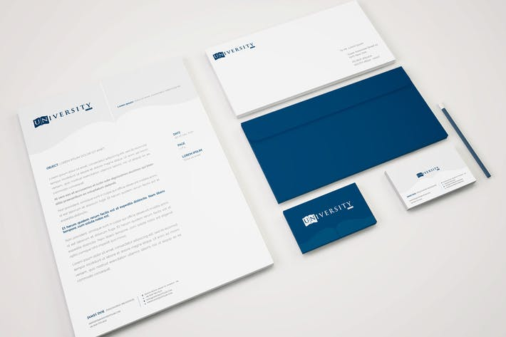 Thumbnail for Education Stationery Mockup