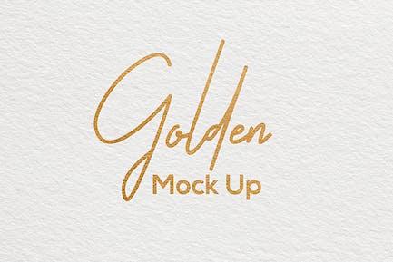 Paper Logo Mockup Vol. 2