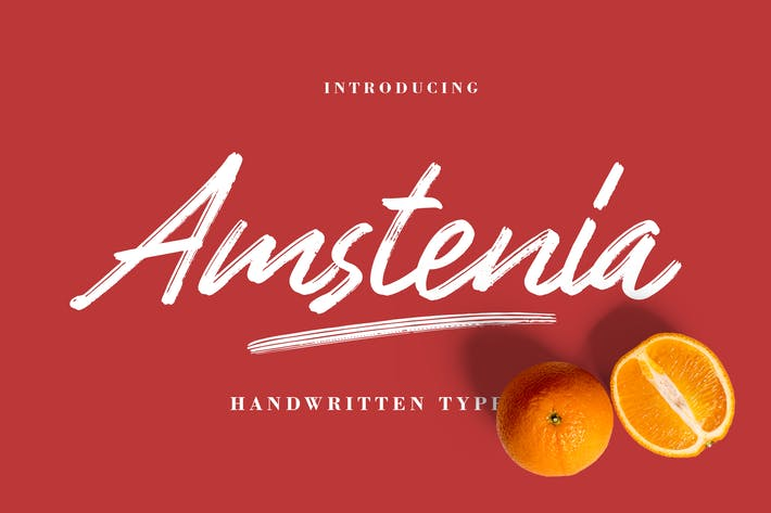 Thumbnail for Amstenia Typeface