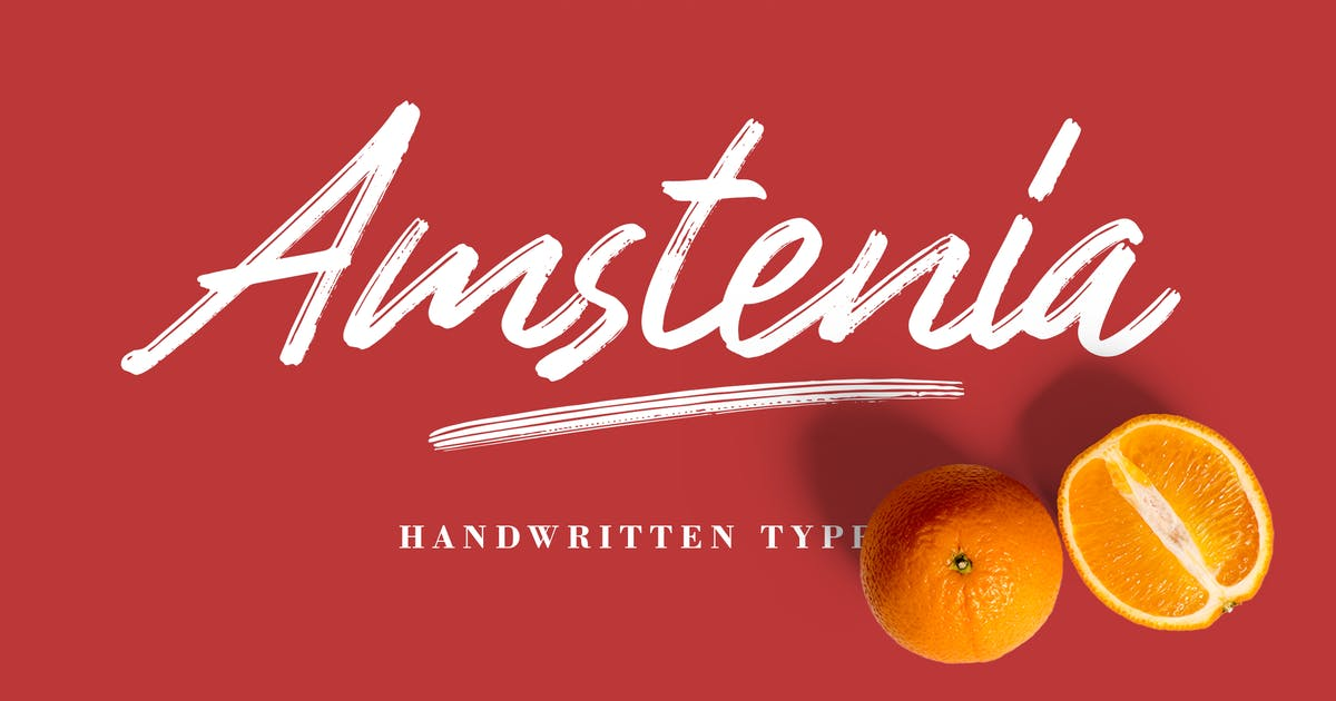 Download Amstenia Typeface by adilbudianto