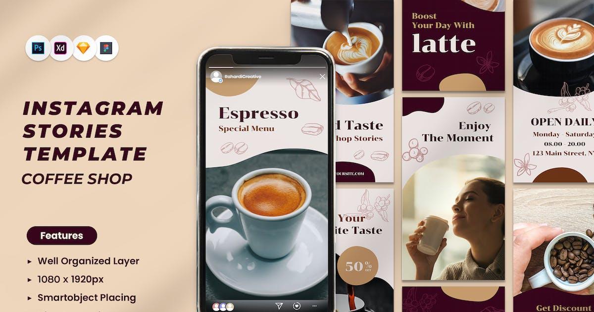 Download Coffee Shop Instagram Story by RahardiCreative