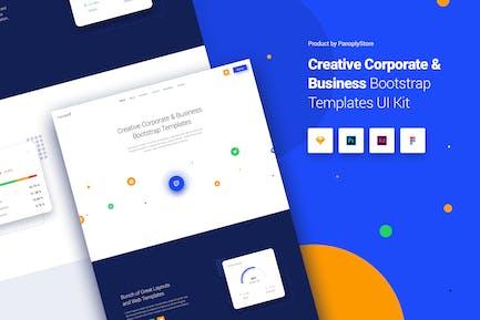 Entreprise créative Modèles d'amorçage d'  entreprise