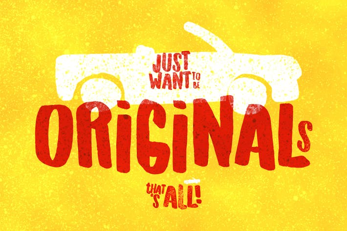Thumbnail for Originals Typeface