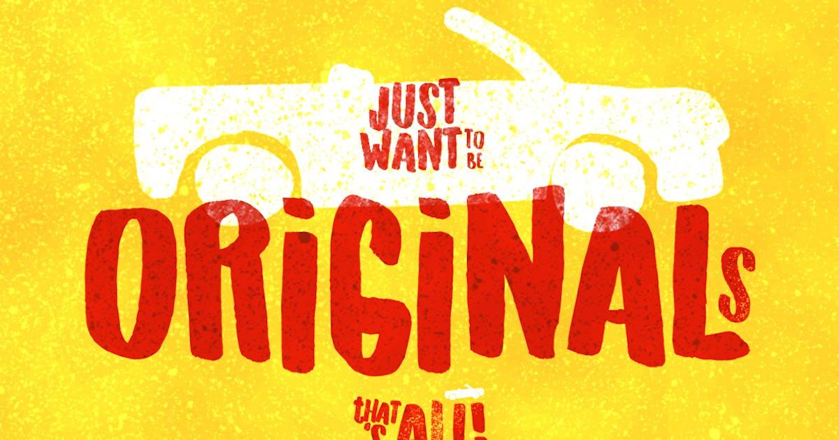 Download Originals Typeface by LeoSupply