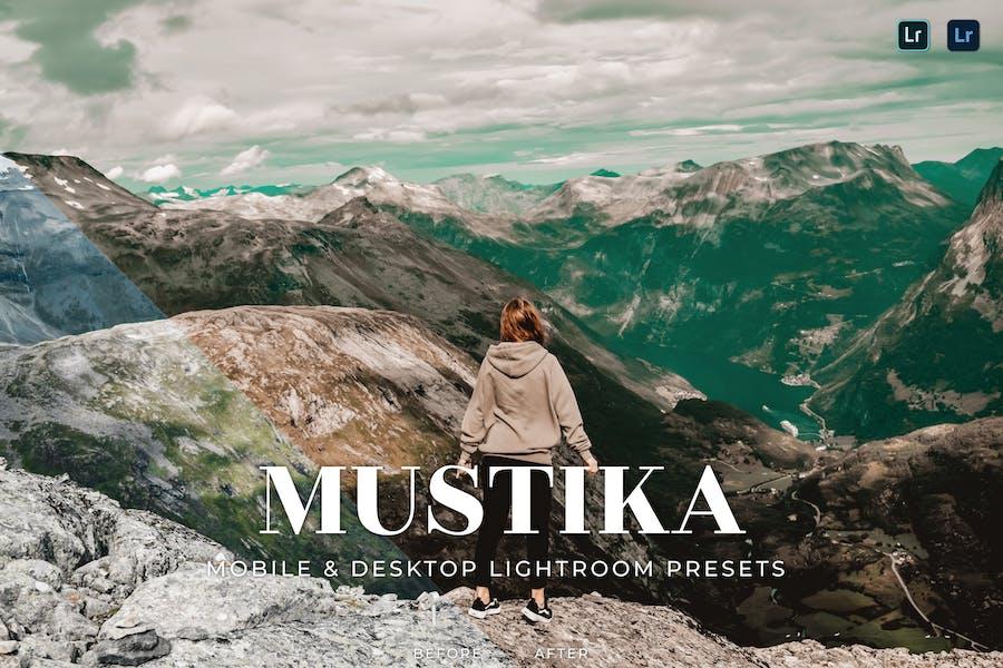 Mustika Mobile and Desktop Lightroom Presets