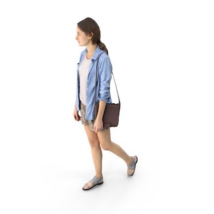 Casual Mujer Caminar