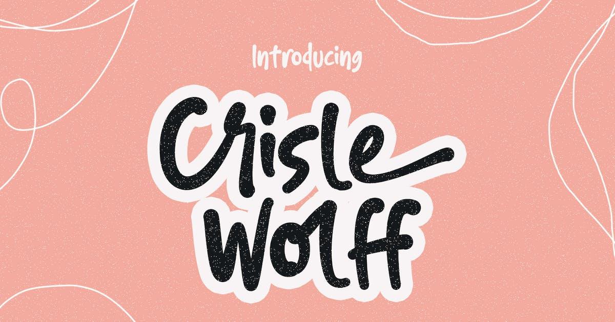 Download Crisle Wolff Cute Display Font by maulanacreative