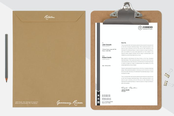 Thumbnail for Letterhead Mock Up Vol 02