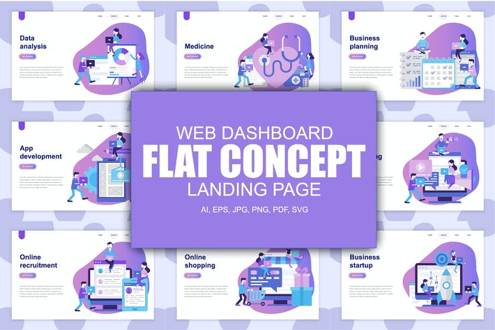 Thumbnail for Landing Page Templates