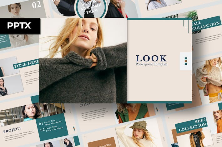 Thumbnail for Look Presentation Template