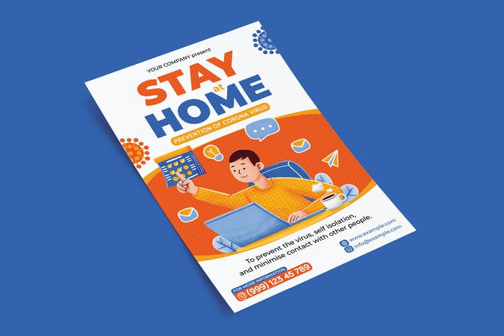 Thumbnail for Stay at Home Flyer