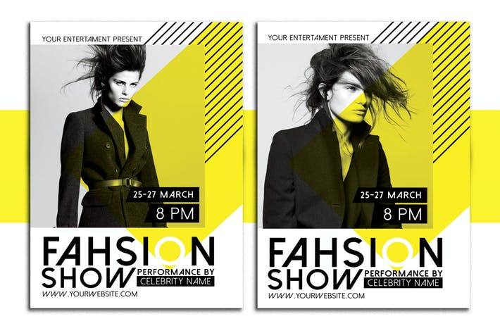 Thumbnail for Fashion Show Flyer Poster